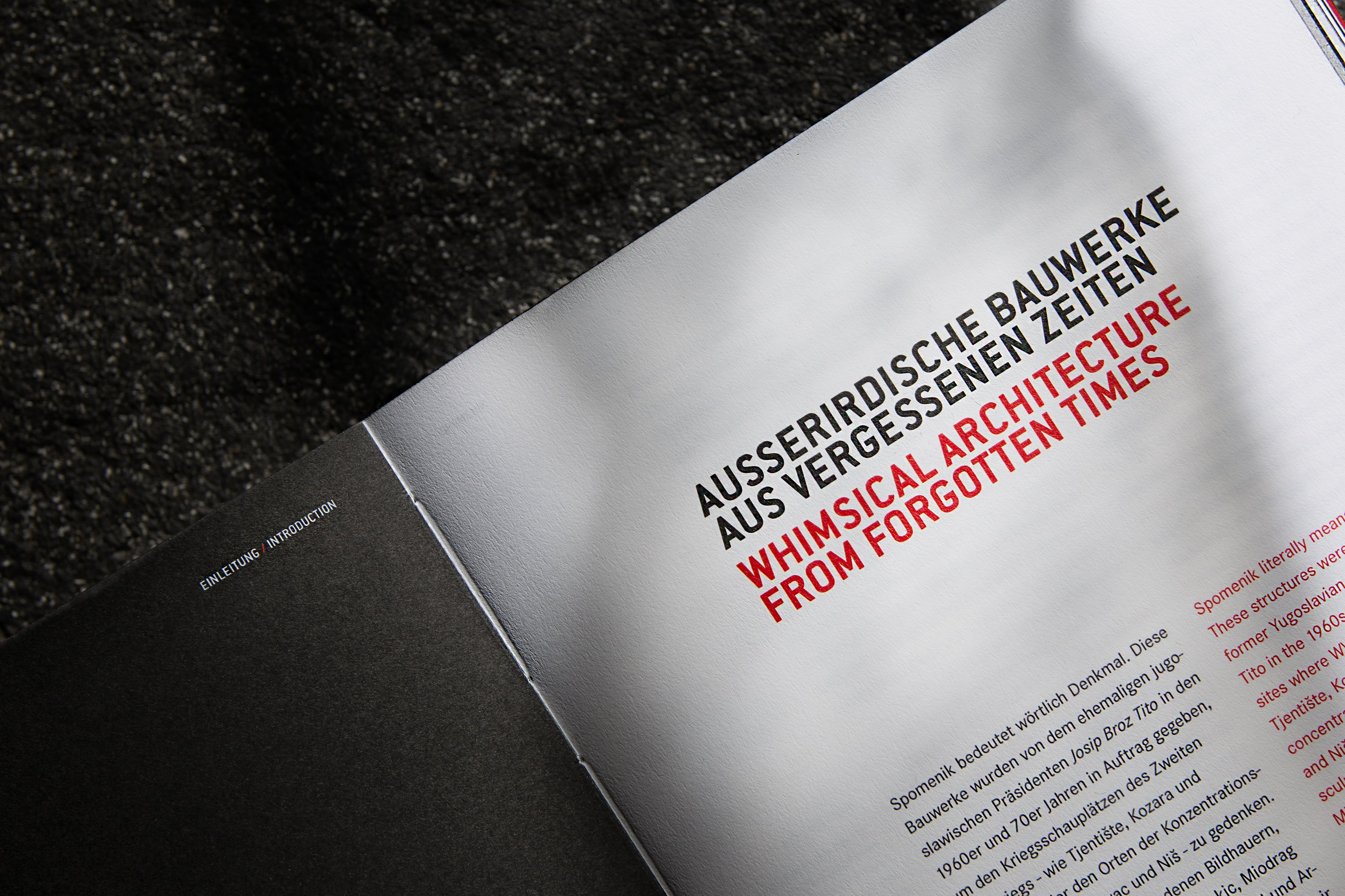 monospace – Branding Value Vergesse Denkmäler